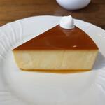 乙コーヒー - チーズケーキ