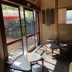 カフェ井政 - カフェスペース