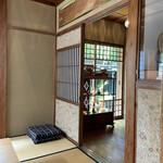 カフェ井政 - 和室