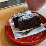 カフェ井政 - チョコレートケーキ