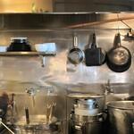 麺匠ぼんてん - 厨房