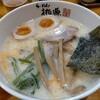 らーめん桃源 - 料理写真:コッテリうましお940円、ミルク風味のうましおにクリームプラス