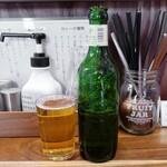 お出汁とスパイス 元祖 エレクトロニカレー - ハートランドビール