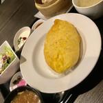 中国厨房 YUAN - ふわとろ天津飯ランチ¥1,100(税込)