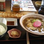 餃子のぽん - 一口餃子ラーメンセット