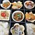ばらの花束 - 料理写真:豆皿定食¥550