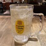 西安刀削麺酒楼 - 角ハイボール 560円