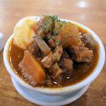 肉バル BEEF KITCHEN STAND - 人気の煮込み(たまご入り)Aプラン内 通常218円