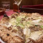 150024741 - ピザランチ(チーズベース)1200円                       豚バラとキャベツのピッツァ