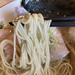 燵家製麺 - 鶏らーめん 塩