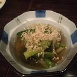 九州料理 マルキュウ - アマドコロのお浸し