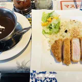 アムール - 料理写真:とんかつカリー=1230円 税込