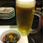 15005197 - ビールとお通し