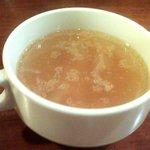 ギリシャ料理&バー OLYMPIA - カップスープ