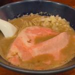 150057040 - ♦︎『限定』鮮魚濃密煮干蕎麦~鈴な凛さん御提供の浜田産ブリ使用~ 1,000円