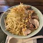 そば五郎 - 料理写真:ラーメン五郎、大、肉増し、ニンニク!