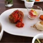 EDEN - メインプレート+ご飯+副菜
