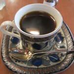 大正館 - 自分は石釜コーヒー(700円)を。ストレートでいただけました。