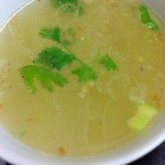 ノング インレイ - 2回目2012年9/26ナマズカレー スープ