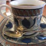 大正館 - コーヒーカップの柄もいいですね。
