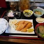 楽車 - 日替わり和風定食¥800