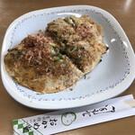 おかめ堂 - 料理写真:うす焼き(ネギ焼き)