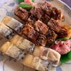 八千穂寿司 - 料理写真:穴子とバッテラ