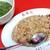 春陽軒 - その他写真:焼き飯とスープ。