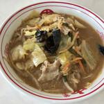 蒙古タンメン中本 - 味噌ラーメン