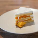 haru. - マンゴーのショートケーキ☆