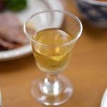 ホテル千畳敷 - ドリンク写真:食前酒(梅酒)