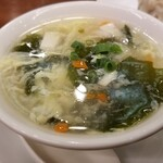 福満園 - スープ。