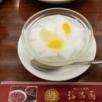福満園 - 杏仁豆腐。