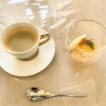 L'Olive - ドリンクとデザート