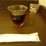神戸牛丼 広重 - 超濃いウーロン茶