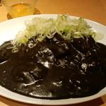 15008436 - すじねぎカリー大盛り、生卵トッピング(2012,4)