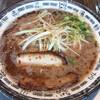ちゅるるちゅーら - 料理写真:白ネギラーメン黒800円