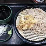 峠の蕎麦 - 大もり+舞茸天