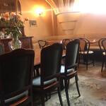 カフェ・アンセーニュダングル - 店内