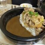 ロビンソンクルーソーカレーハウス - 豚丼カレーM