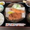 とんかつ播 - 料理写真:エビ&ロースカツ定食1449円
