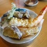 お蕎麦 結 - 料理写真:天ぷら