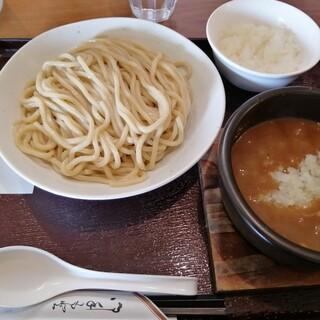 つけ麺 いちりん - 料理写真:つけ麺300gと半ライス
