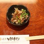 KYOKU - 最初に出てきたこれが(>_<)ほどよい辛さが・・・(*^_^*)