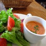 ゴリゾー - サラダ