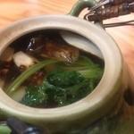 かず味家 - 松茸土瓶蒸し