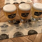 YONA YONA BEER WORKS - スタンダードビール 3種飲みくらべ