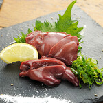 立喰酒場 金獅子 - 料理写真:地鶏の肝造り