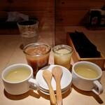 大衆ステーキ食堂 バッファローハンター - 料理写真:スープ・ライス付き
