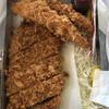 とんかつ専門店 恵庭屋 - 料理写真:でかいパン粉やで エビフライ2個 ロースカツ1枚